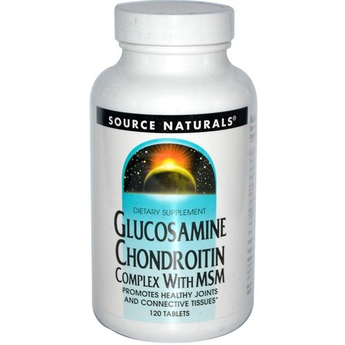 Source Naturals Glucosamine Chondroitin Complex with MSM, 120 Tabletten