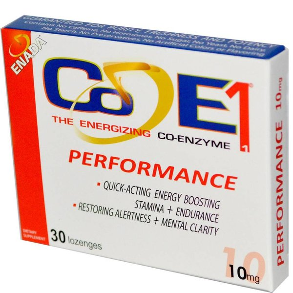 Co-E1 Co-E1: The Energizing Co-Enzyme, Performance, 10 mg, 30 Lutschtabletten