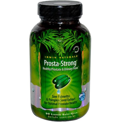 Irwin Naturals Prosta-Strong, 90 Liquid Softgel Kapseln