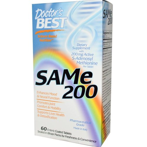 Doctor's Best SAM-E 200