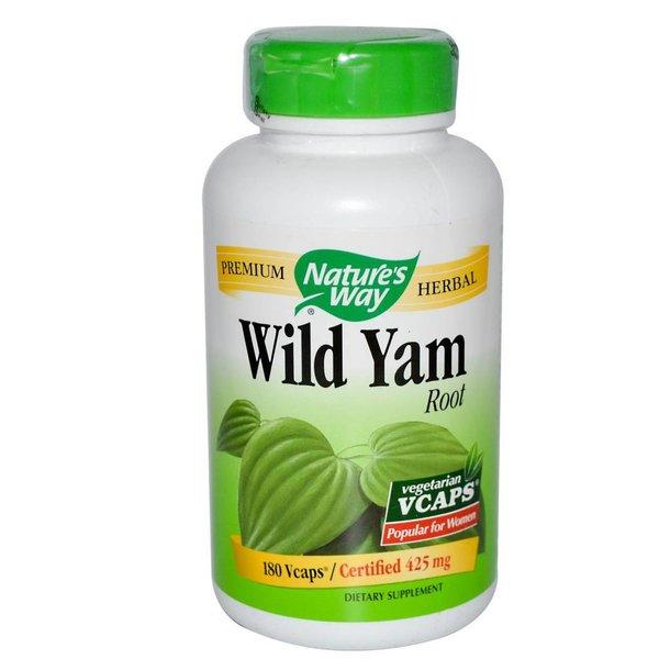 Nature's Way Wild Yam, Root, 180 Veggie Kapseln: Naturheilkunde bei Menstruationsbeschwerden & Wechseljahresbeschwerden