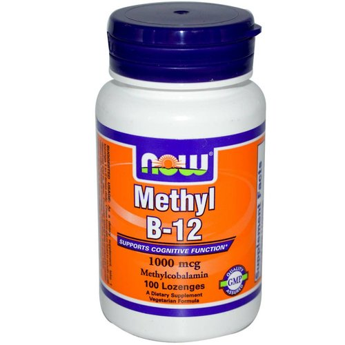 Now Methyl B-12 (1.000 mcg)
