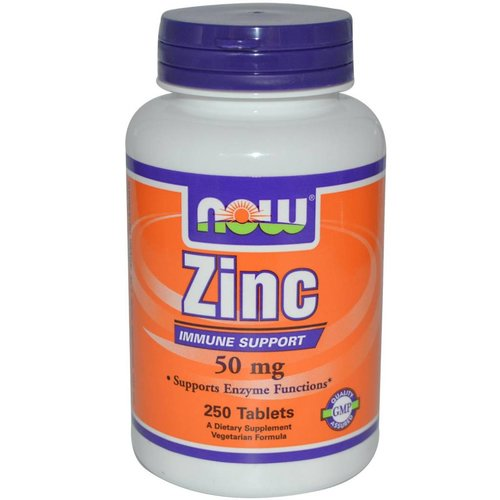 Now Foods Zink (50 mg)