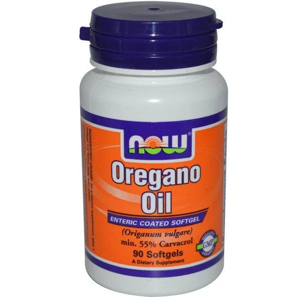 Now Oregano Oil, 90 Softgel Kapseln: Schutz gegen Mikroben und Fraßfeinde