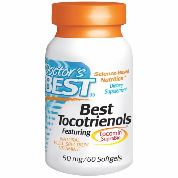 Doctor's Best Tocotrienole (50 mg)