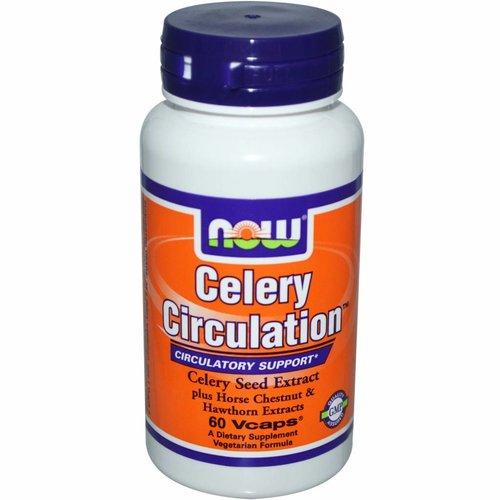 Now Foods Sellerie Zirkulation, 60 Vcaps