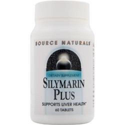 Source Naturals Silymarin Plus, 60 Tableten: mit Vitamin C&E, Inositol & Cholin