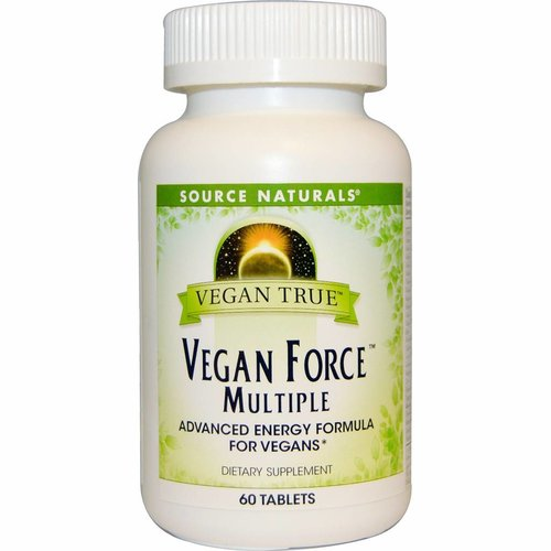 Source Naturals Life Force: Veganes Energie & Performance Multivitamin, 60 Tabletten