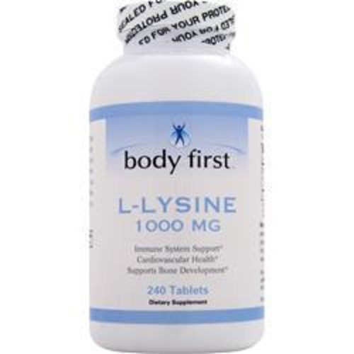 BODY FIRST (AllstarHealth) L-Lysin (1000mg) 240 Tabletten