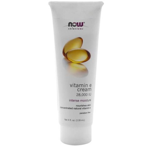 Now Foods Vitamin E Creme, 28,000 IU, 4 fl oz (118 ml)