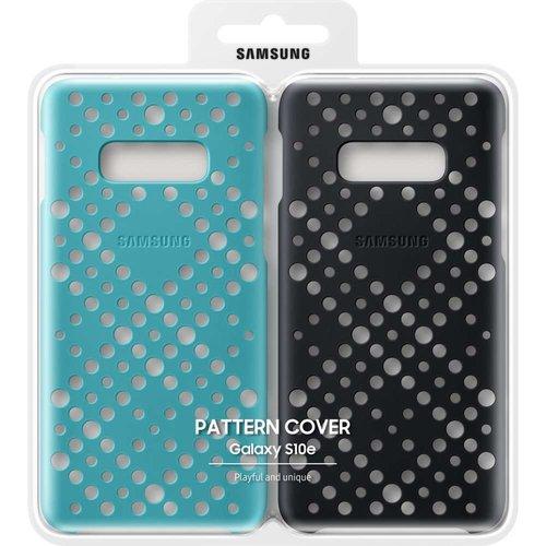 Samsung Galaxy S10e Pattern Cover (Zwart/Groen)