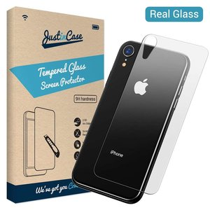 Just in Case Back Cover Tempered Glass Apple iPhone Xr