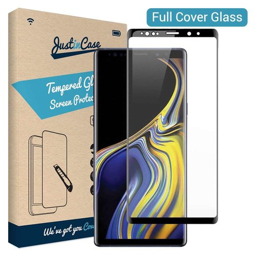 Just in Case Full Cover Tempered Glass Samsung Galaxy Note 9 (Zwart)