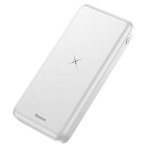 Baseus Wireless Charger 10000mAh (Wit)