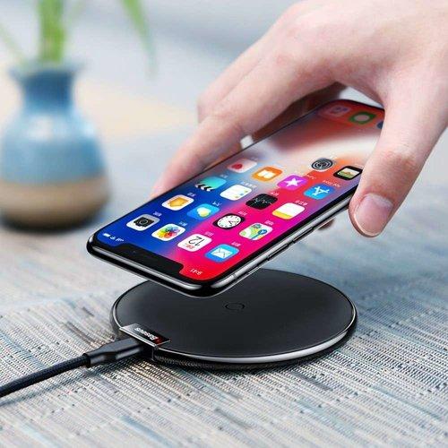 Baseus Wireless Qi Charger IX (Zwart)
