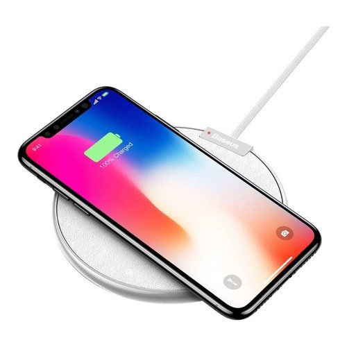 Baseus Wireless Qi Charger IX (Wit)