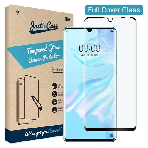 Just in Case Tempered Glass Hauwei P30 Lite (Zwart)