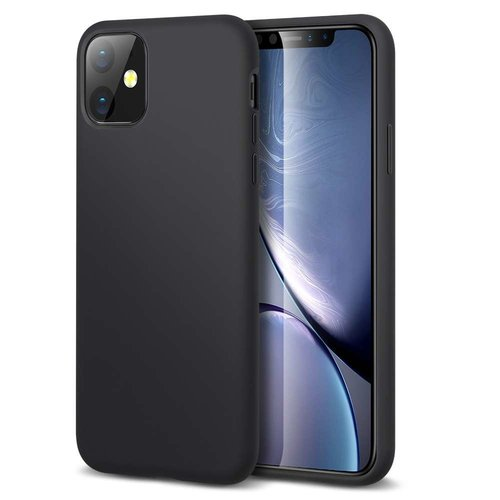 Apple iPhone 11 Yippee Color Case (Zwart)