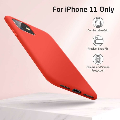 Apple iPhone 11 Yippee Color Case (Rood)