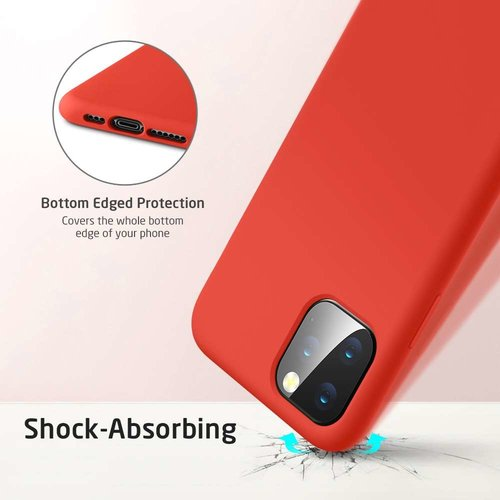 Apple iPhone 11 Pro Yippee Color Case (Rood)