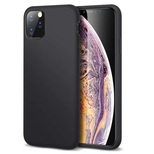 Apple iPhone 11 Pro Max Yippee Color Case (Zwart)