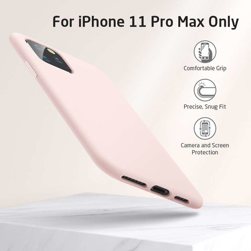 Apple iPhone 11 Pro Max Yippee Color Case (Roze)
