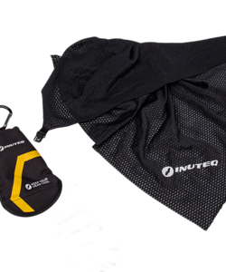 Bodycool Travel Towel - Black with UV protection