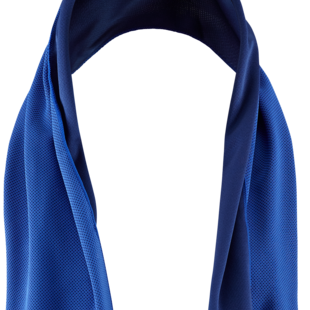 Body Cooling Towel+   l DeLuxe - NUVUA - Blue Softtowel + Storage Case