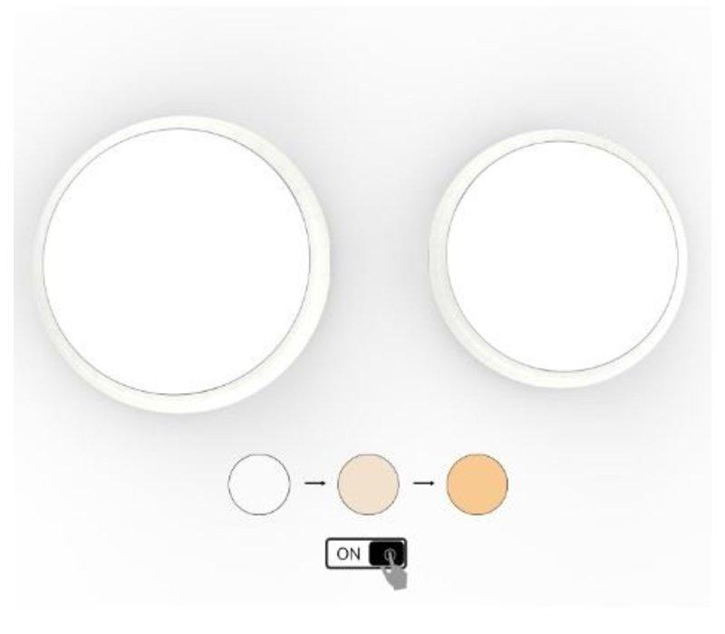 18W,  Ø 30 cm,  Lichtfarbe: 3 Stufen einstellbar,  DL-AL08-12-18W-P3