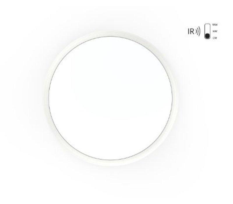 18W,  Ø 30 cm,  Bewegungsmelder einstellbar, DL-AL08-12-18W-SS