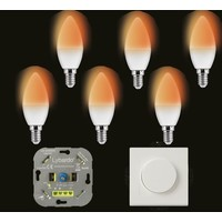 Wellmax E14 C37 dim to warm - 6 pcs
