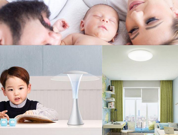 baby kind licht