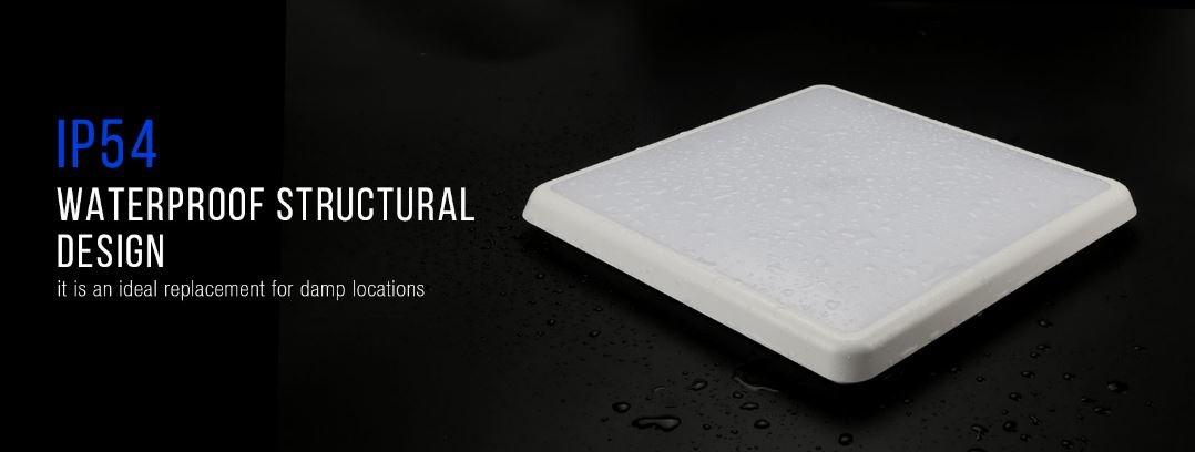 IP54 Waterproof design