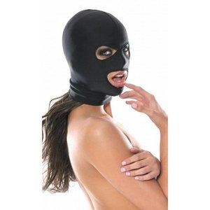 Fetish Fantasy Series Zwart Spandex Masker