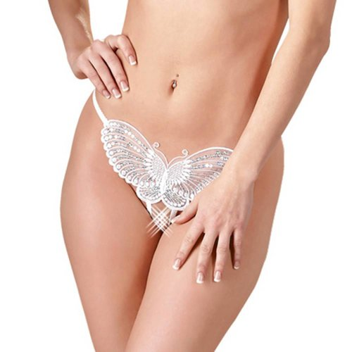 Mandy mystery Line Witte Butterfly string