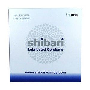 Shibari Shibari Condooms Met Glijmiddel - 36 Stuks