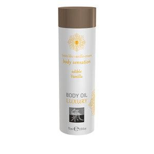 Shiatsu Luxe Eetbare Body Oil - Vanille