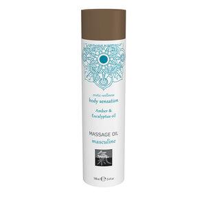 Shiatsu Masculine Massage Olie - Amber & Eucalyptus