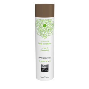 Shiatsu Stimulation Massage Olie - Lotus & Kokos