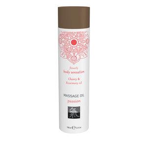 Shiatsu Passion Massage Olie - Kersen & Rozemarijn