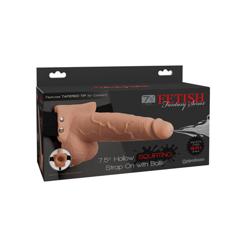 Fetish Fantasy Series Holle Squirting Strap-On - 19 cm