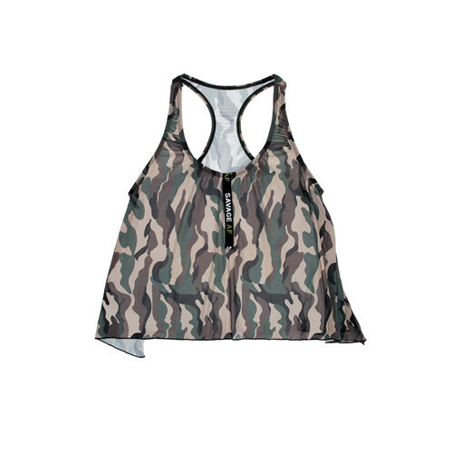 Vibes Racerback Top Camouflageprint
