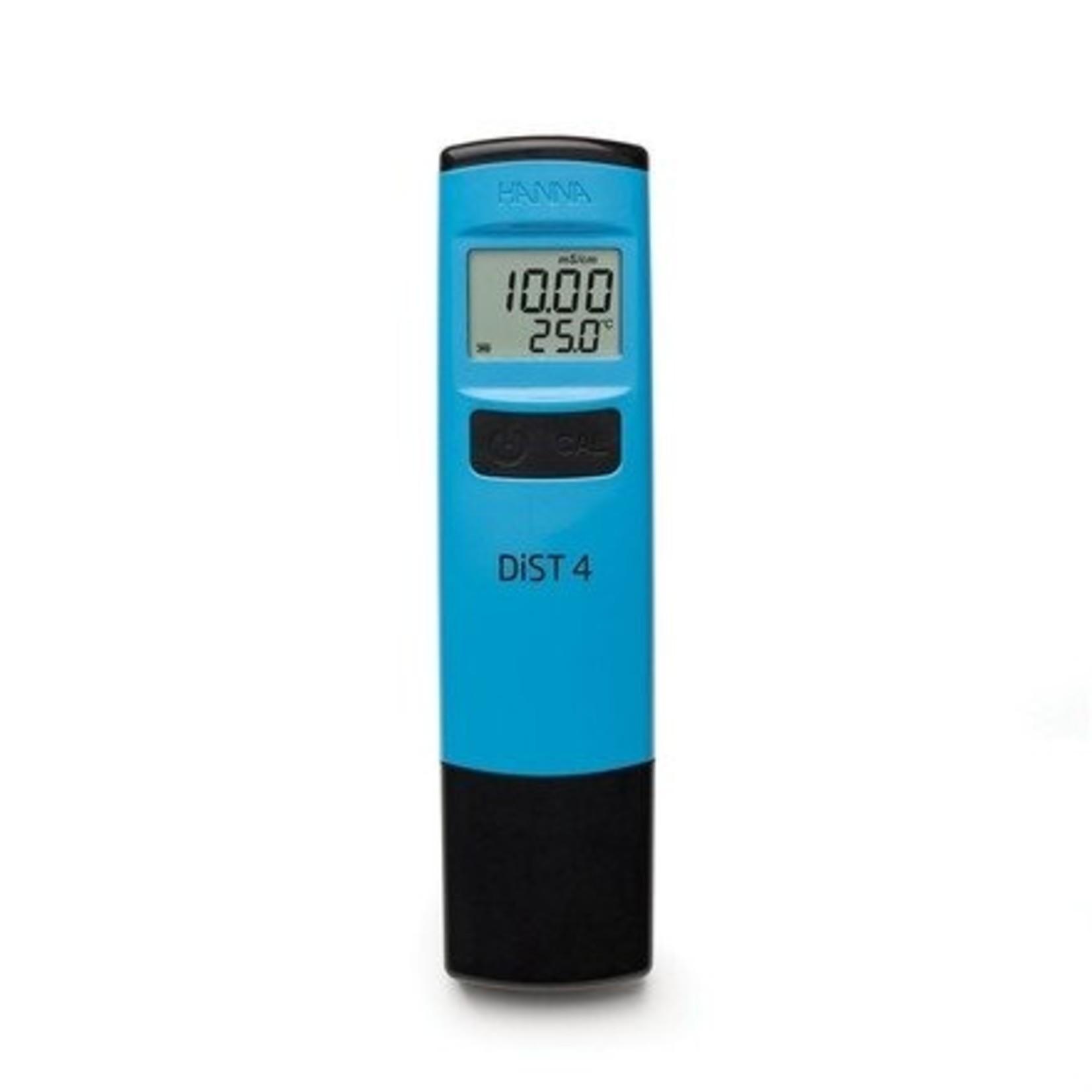 Hanna Instruments HI98304 Dist 4 geleidbaarheids tester 0-19,99 mS/cm