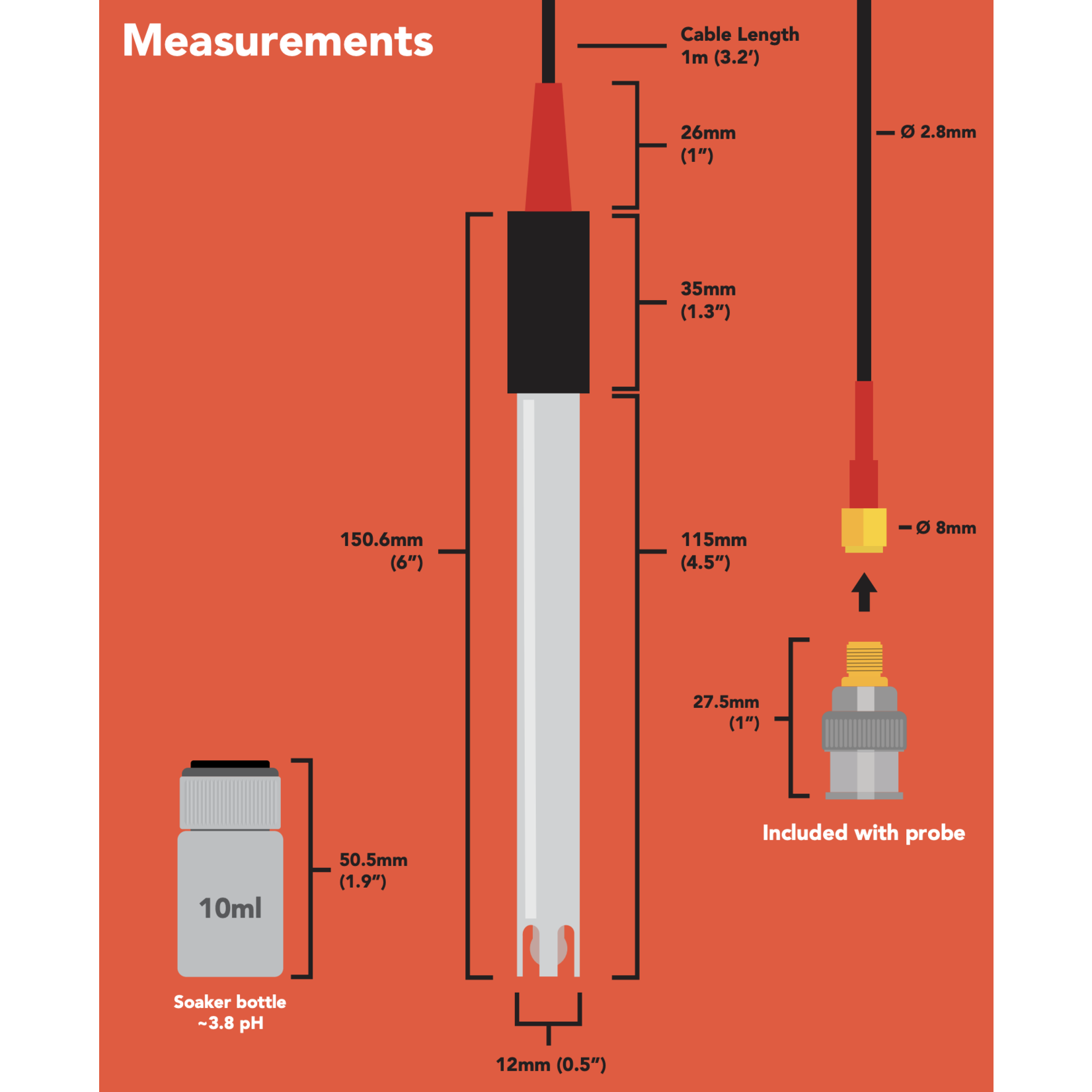 Atlas Scientific pH Probe  consumer grade