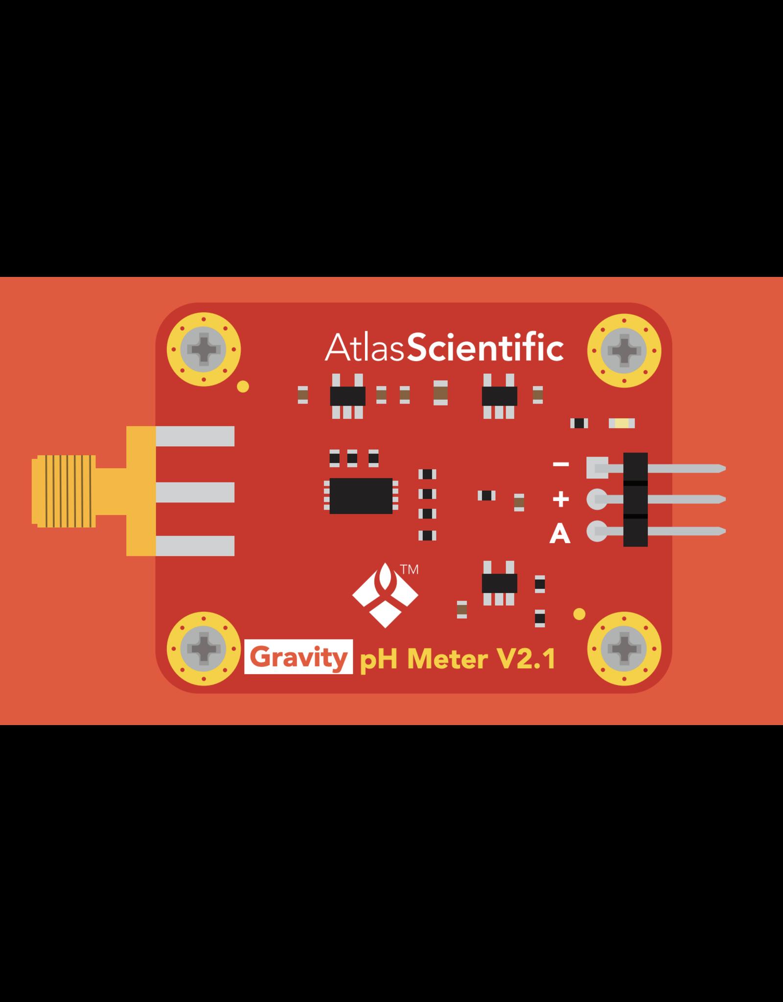 Atlas Scientific Gravity™ Analog pH Sensor / Meter