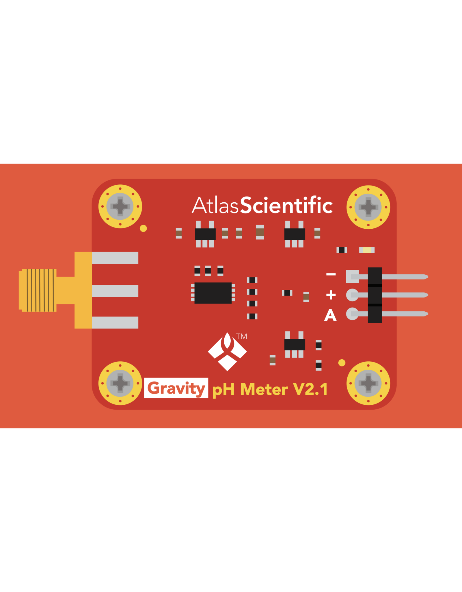 Atlas Scientific Gravity™ Analoge pH Sensor / Meter