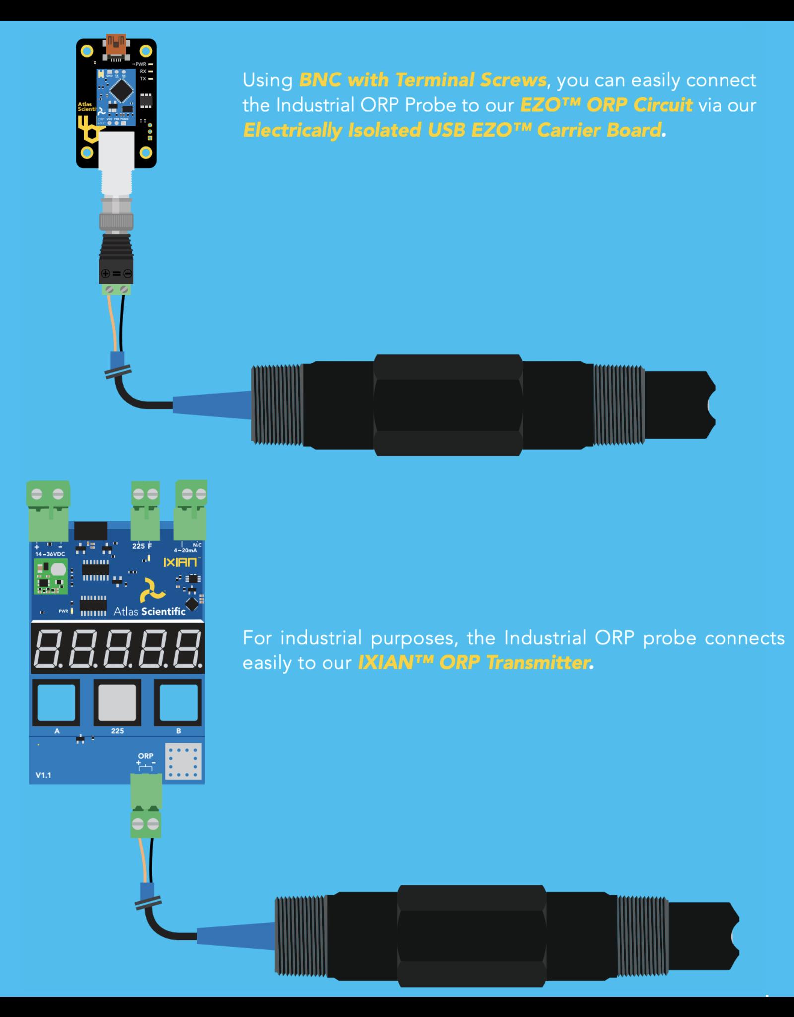 Atlas Scientific Industrial ORP Sensor Kit
