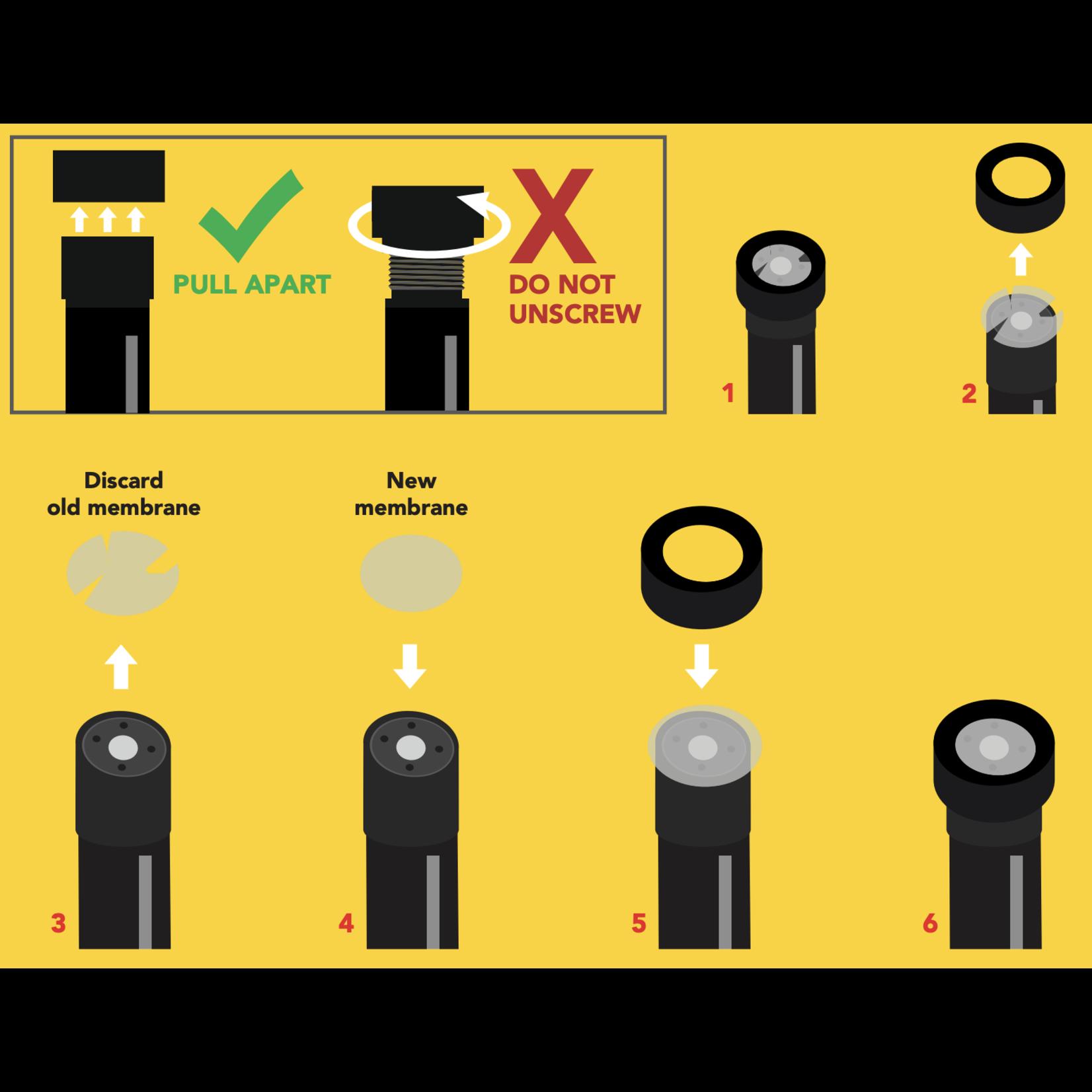 Atlas Scientific Dissolved Oxygen Membrane Replacement Kit