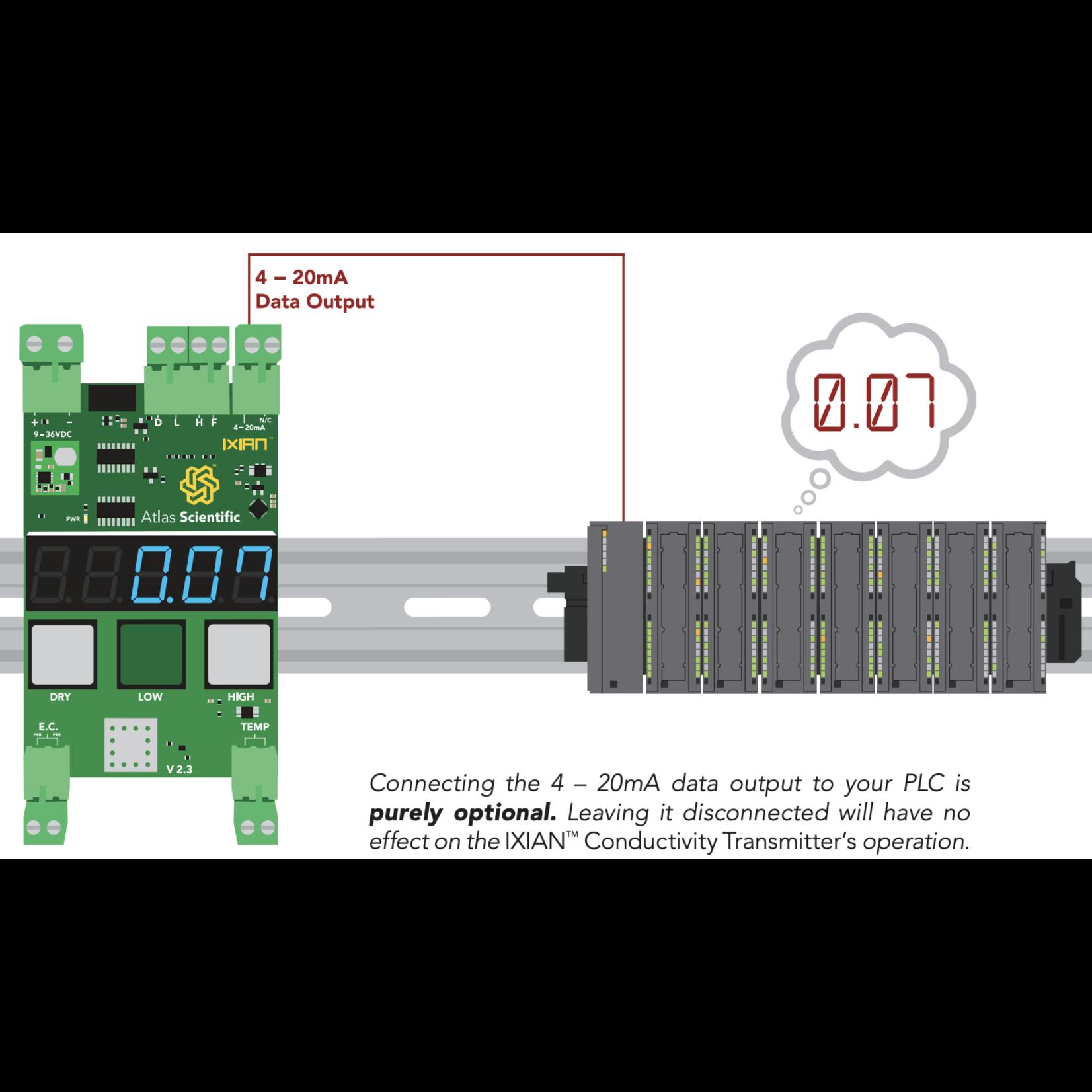 Atlas Scientific Industrial Conductivity probe Kit K 1.0