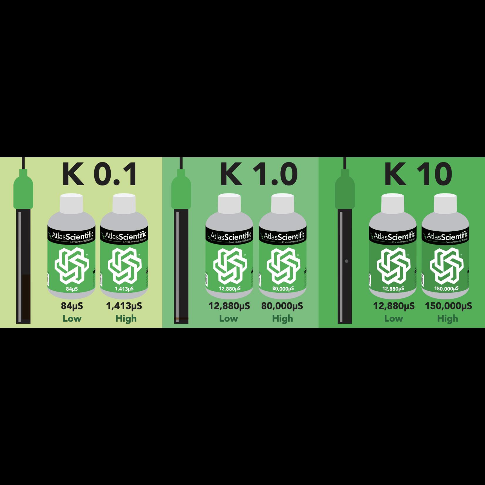 Atlas Scientific Geleidbaarheid Kalibratie vloeistof K 10 set